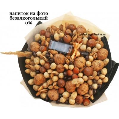 Ореховый мужской букет