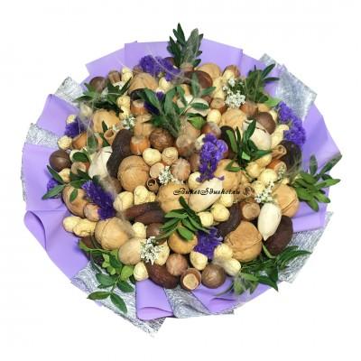 Букет из орехов купить в Москве