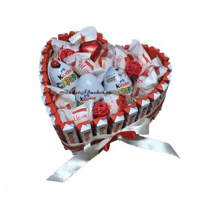 Букеты из конфет доставка