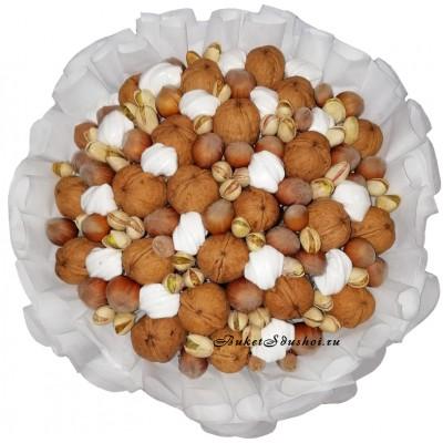 Купить букет из орехов недорого