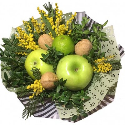 Букет из фруктов женщине