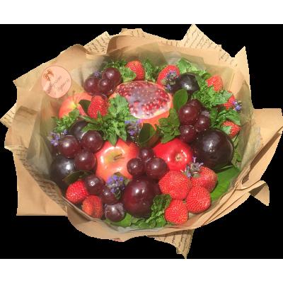 Букет  из фруктов и клубники